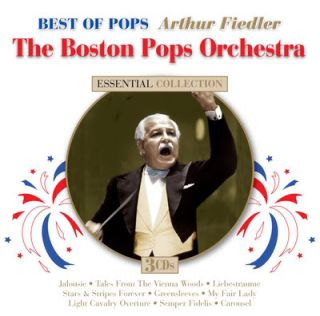 Arthur Fiedler & The Boston Pops Orchestra Best Of Pops 3 CD set 45