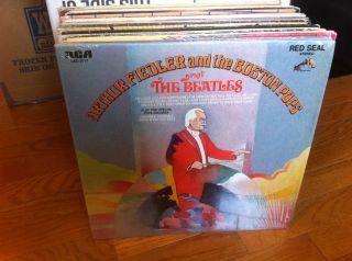 Arthur Fiedler Boston Pops Play The Beatles Vinyl LP 1969 w Shrink