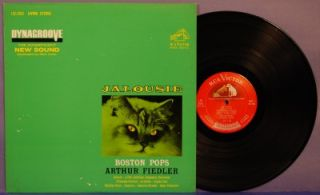 Arthur Fiedler Boston Pops Jalousie LP RCA LSC 2661 M  63 Living