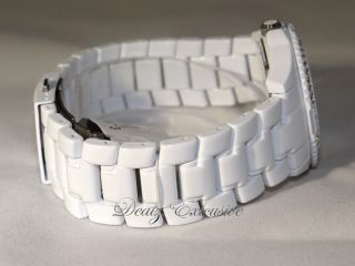 GUESS G12543L Crystal WHITE ROCK CANDY Watch   NEW in BOX (MSRP $125)