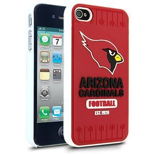 iPhone 4 4S Arizona Cardinals Faceplate Protective Hard Case Cover NFL