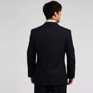 599 Tommy Hilfiger Cashman Navy Pinstriped Trim Fit Suit 46L 41W
