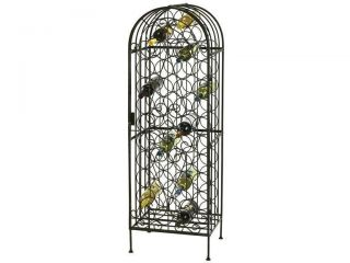 Howard Miller Wine Arbor Wrought Iron Wine Rack 655146