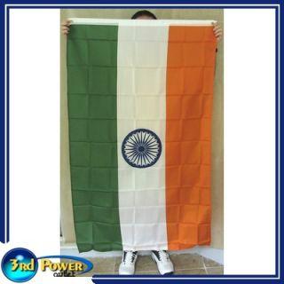 India Flag 3 x 5 ft Ashoka Chakra Indian Double Sided