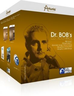 Arturia Dr Bobs Moog Software pack with DVD Book