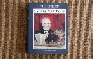 Classical Architecture History Book on Sir Edwin Lutyens English