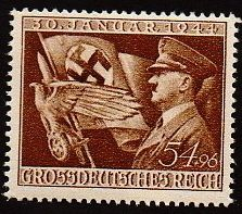 1944 WWII Era Adolf Hitler Assumption of Nazi Power War II Mint