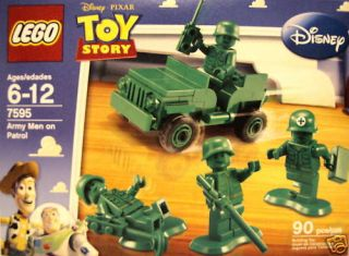 Army Men on Patrol Disney Toy Story Lego Set 7595 2009