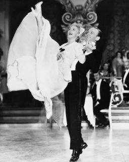 Ginger Rogers Fred Astaire in Movie The Story of Vernon and Irene