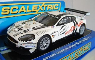 Scalextric C3293 Aston Martin DBR9 Team Young Driver 2011 Slot Car