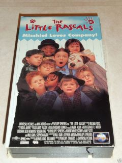 Little Rascals VHS 2000 Brittany Ashton Holmes Bug Hall Travis Tedford