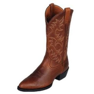 Ariat Mens Heritage Western R Toe Cowboy Boot Soft Timber 10005007
