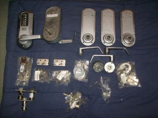 KABA ILCO Simplex 5000 Cylindrical Lock Locksmith Assorted Parts Lot