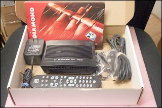 DIAMOND ATI TV WONDER HD 650 DUAL TUNER USB DIGITAL & ANALOG TV TUNER