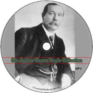 Arthur Conan Doyle Collection 19 Audio Books on 1 DVD Audio  Files