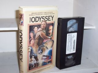 The Odyssey 1997 VHS Armand Assante 707729753032