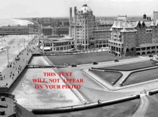 Atlantic City Boardwalk Panorama of 3   8 1/2 X 11 Photographs Circa