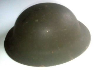 Vintage WW1 Army Helmet with Liner Strap