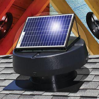Professional Series Solar Powered Attic Fan 9915TR 1900 Square Feet
