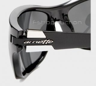 1d77b2c67e ... Arnette An 4120 03 Speed Polarized Black Grey Mens Boys Sunglasses in  ...