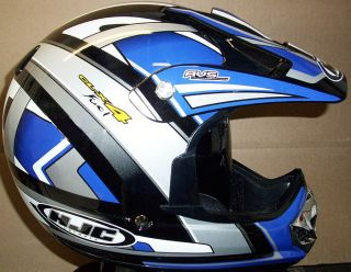 HJC CL X4 Fuel Motorcycle Motocross ATV Off Road Helmet XL