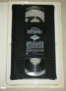 Little Mermaid VHS Movie Walt Disney 1989 Jodi Benson Samuel E Wright