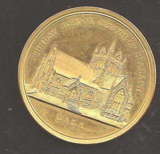 Bala Cynwyd,Pa. 1900 St. Asaph Epispocal Church sunday school Brass
