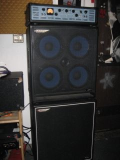 ASHDOWN BASS AMPLIFIER AND SPEAKER CABINETS