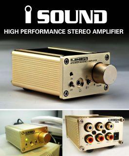 Performance Mini Hi Fi Stereo Audio Amplifier Power Amplifier 2 CH