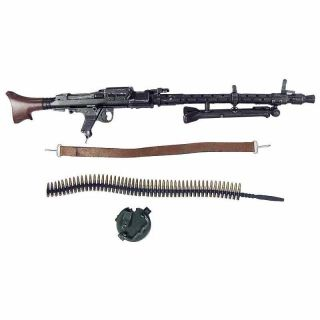 German MG34 Gunner   MG34 Machine Gun Set  1/6 Scale   Toys City