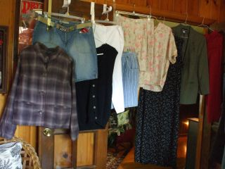 Ladies 10 Clothes Lot Sz 14 16 L Ashley Judd Sag Harbor RL Jacket
