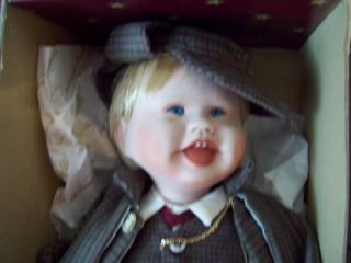 Ashton Drake Knowles Little Sherlock Holmes Doll First Issue Born to