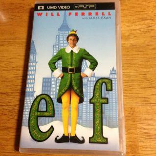Elf UMD for PSP DVD Ed Asner Jon Favreau Kyle Gass Michael Lerner