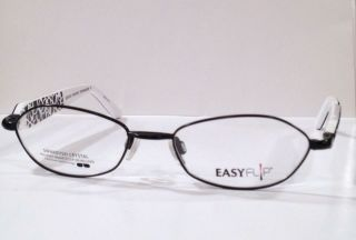 EASY FLIP Magnetic Sun Clip Womens Eyeglasses SWAROVSKI CRYSTALS NEW