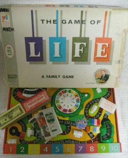 Game of Life Board Game Milton Bradley Art Linkletter Complete