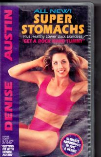 Denise Austin demonstrates the way to a flatter stomach. Includes a 30