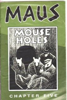 Maus Chapter Five Mouse Holes Art Spiegelman Fine
