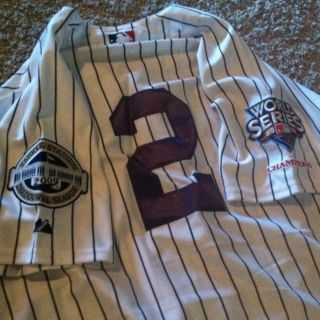 Majestic Authentic Collection New York Yankees Derek Jeter Home Jersey