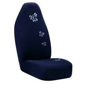 Auto Expressions Dark Blue Butterflies Bucket Seat Cover New 5047553