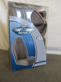 Auto Expressions Axius Universal Bucket Seat Cover Sleek Sport Luxury