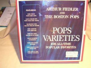 Arthur Fiedler and The Boston Pops Pops Varieties