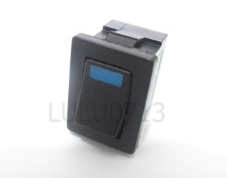 Blue 3V LED Light on Off Rocker Switch 120V 250V 6A