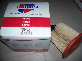 car quest air filter 88416 ford 1995 1996 1997 1998 1999 mazda pickups