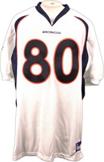 Denver Broncos Rod Smith Authentic NFL Jersey White 60