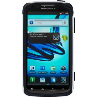 Otterbox Commuter Case Motorola Atrix 2 White Black in Retail