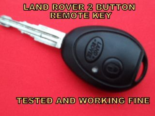 TD5 V8 FREELANDER DISCOVERY 2 BUTTON CAR REMOTE CONTROL ALARM KEY FOB
