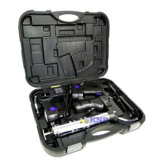 18V Cordless Grease Gun w Case 2 Battery DIY Home Automotive HD