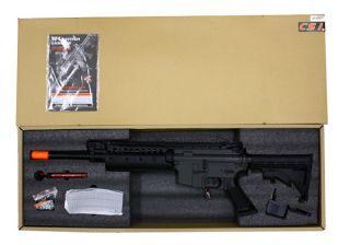 JG M4 s System 6613 Auto Electric Airsoft Soft Air Rifle Gun AEG Free