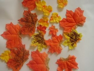 Leaves Wedding Favor Autumn Maple Leaf Party Table Decoration