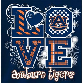 Auburn Tigers Football T Shirts Auburn Girls Love Auburn Tigers Color